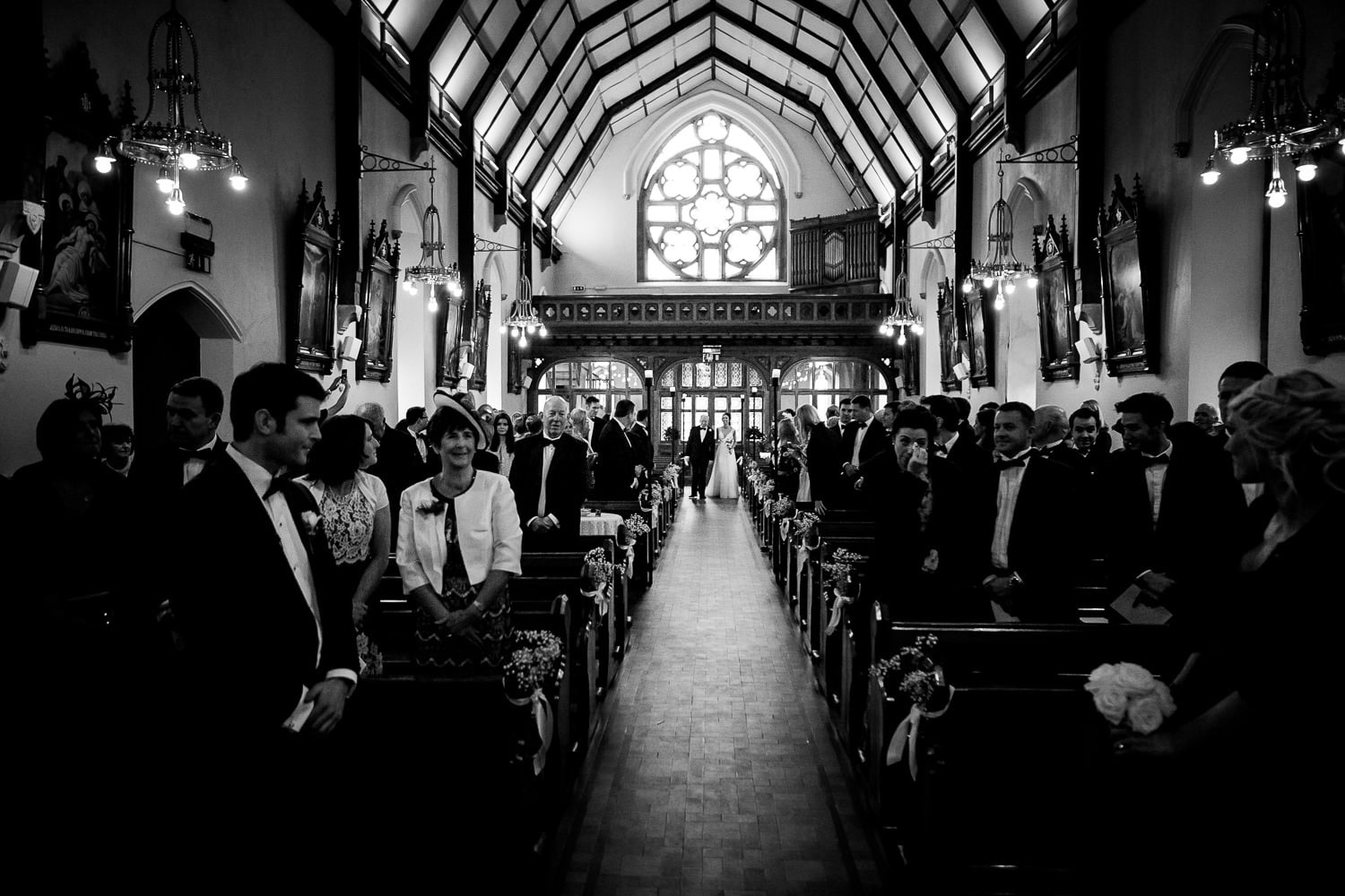 GARETH MCGAUGHEY PHOTOGRAPHY - BELLINGHAM CASTLE WEDDING 00043