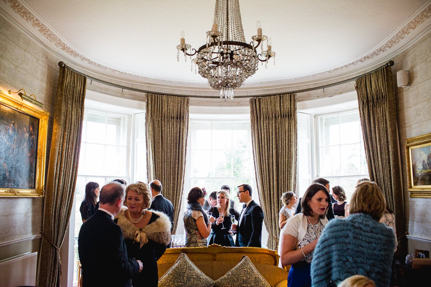 GARETH MCGAUGHEY PHOTOGRAPHY - BELLINGHAM CASTLE WEDDING 00065
