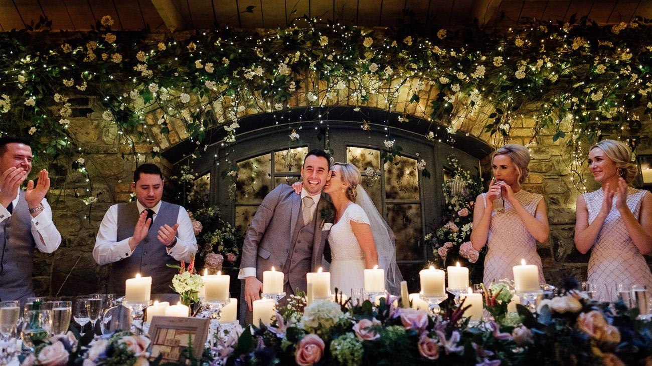 A wedding reception at ballymagarvey village
