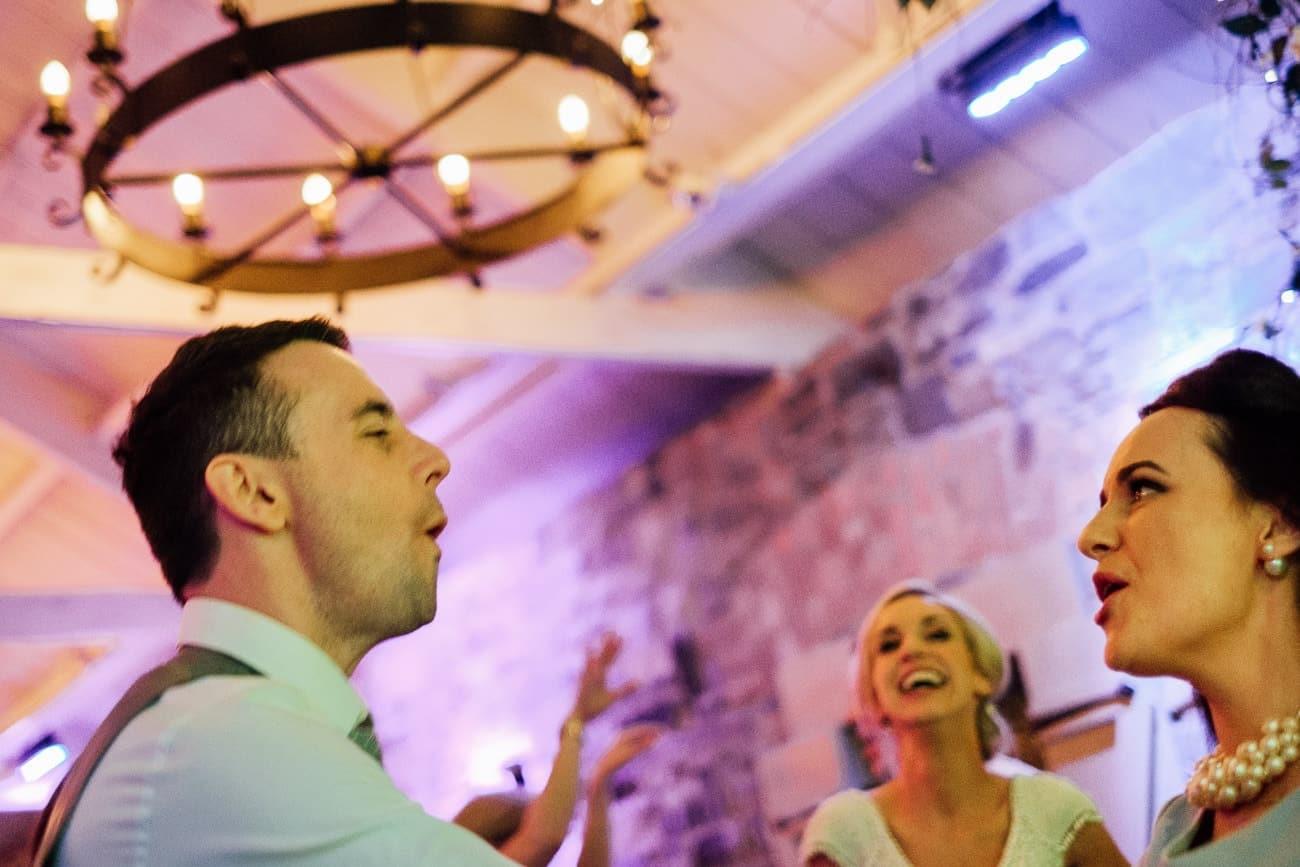 Guests dancing at Ballymagarvey Village