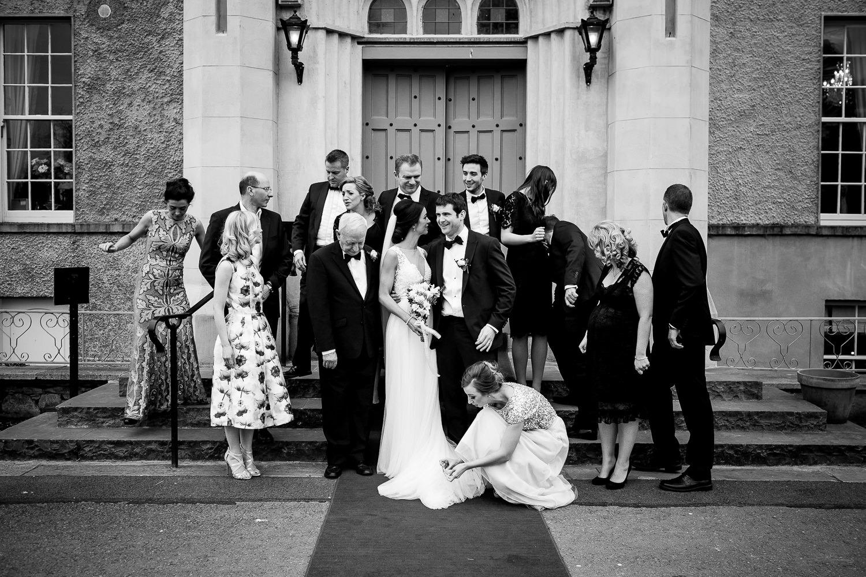 GARETH MCGAUGHEY PHOTOGRAPHY - BELLINGHAM CASTLE WEDDING 00067